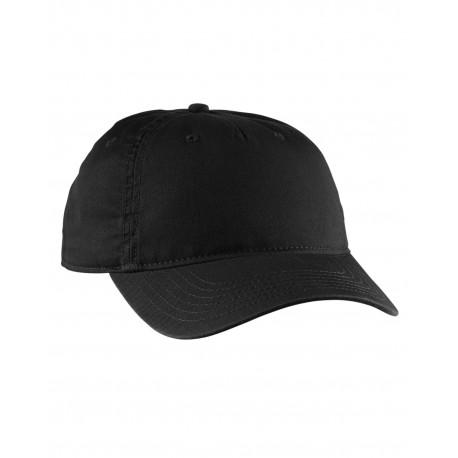EC7087 Econscious EC7087 Twill 5-Panel Unstructured Hat BLACK