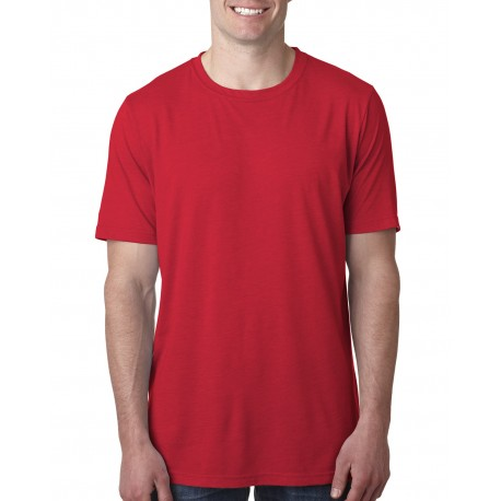 6200 Next Level 6200 Unisex Poly/Cotton Crew RED