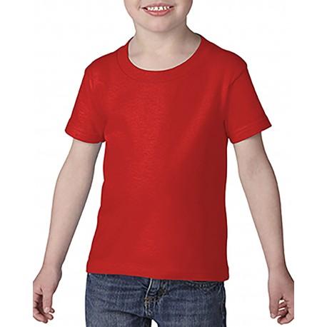 G645P Gildan G645P Toddler Softstyle 4.5 oz. T-Shirt RED