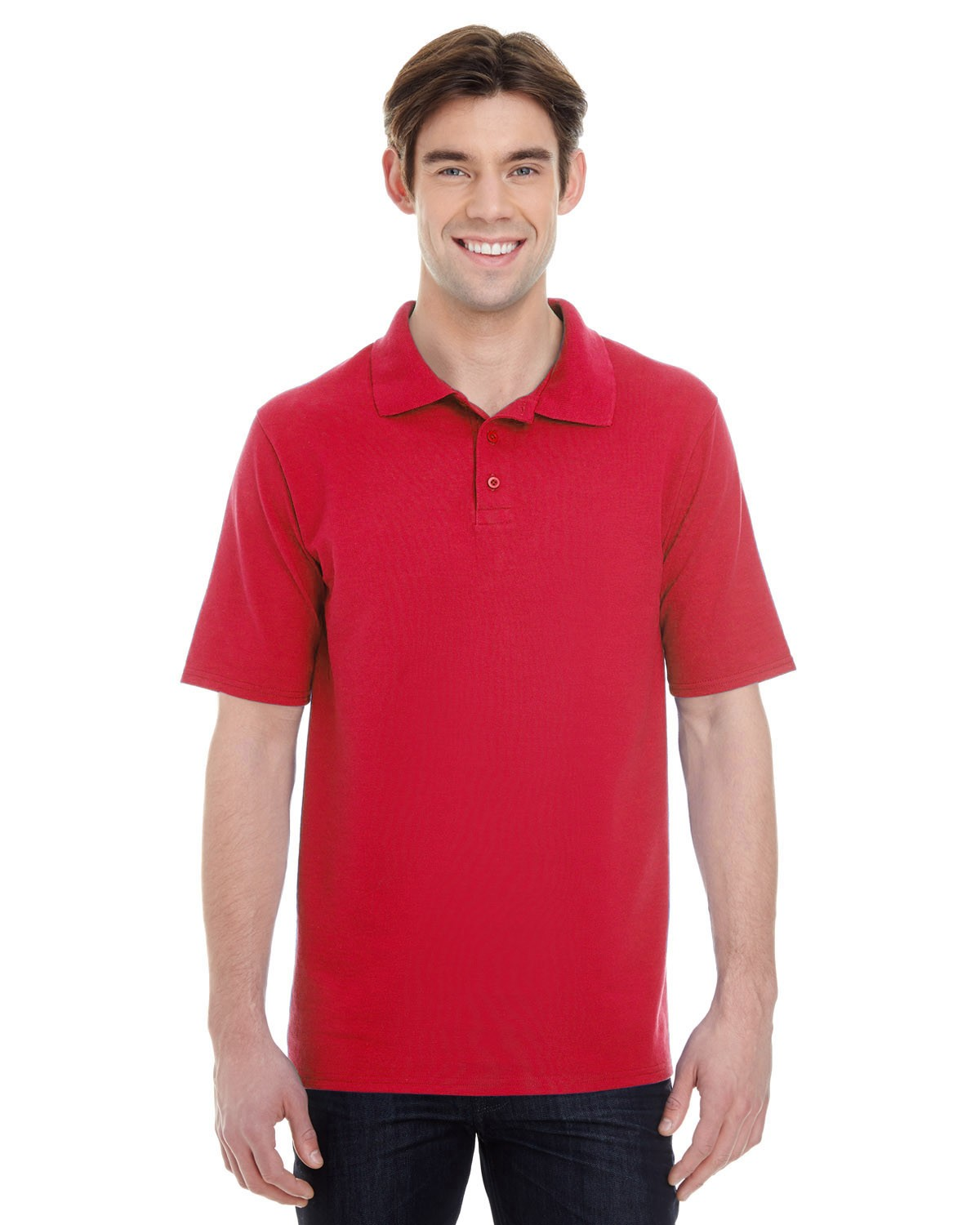 055P Hanes RED