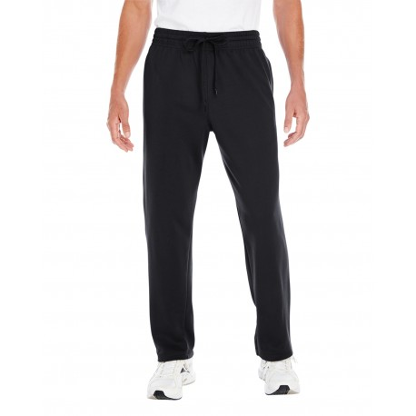 G994 Gildan G994 Adult Performance 7 oz. Tech Open-Bottom Sweatpants with Pockets BLACK