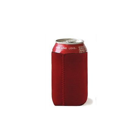 FT007 Liberty Bags FT007 Neoprene Can Holder RED