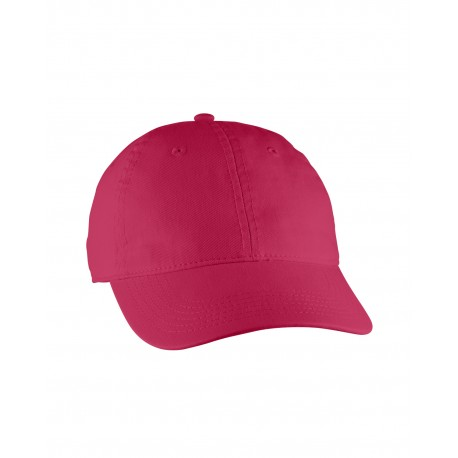 103 Comfort Colors 103 Direct-Dyed Canvas Baseball Cap RED