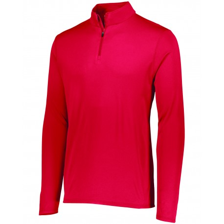 2785 Augusta Sportswear 2785 Adult Attain Quarter-Zip Pullover RED