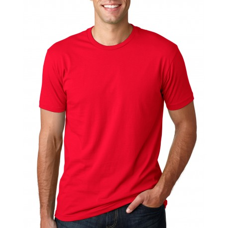 3600A Next Level 3600A Men's Made in USA Cotton Crew RED