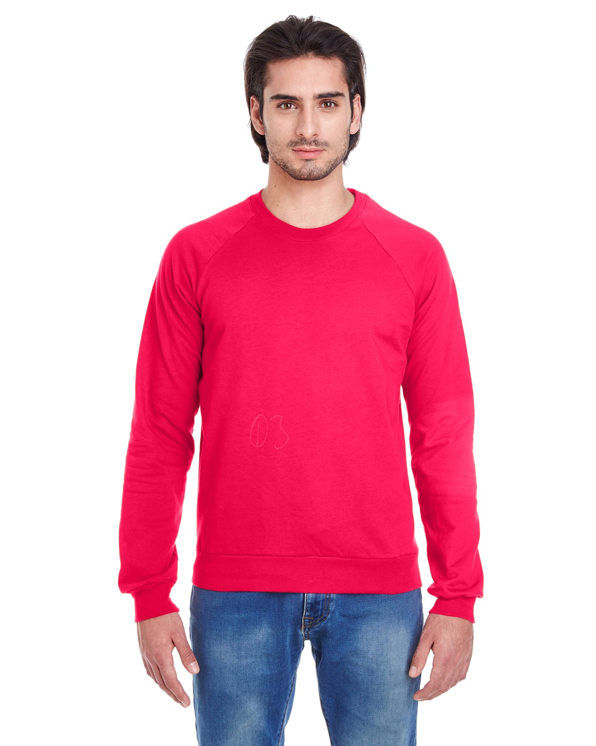 5454W American Apparel RED