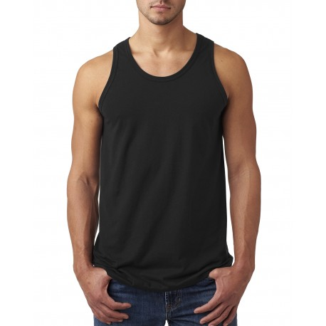 42MT Hanes 42MT Men's 4.5 oz. X-Temp Performance Tank BLACK