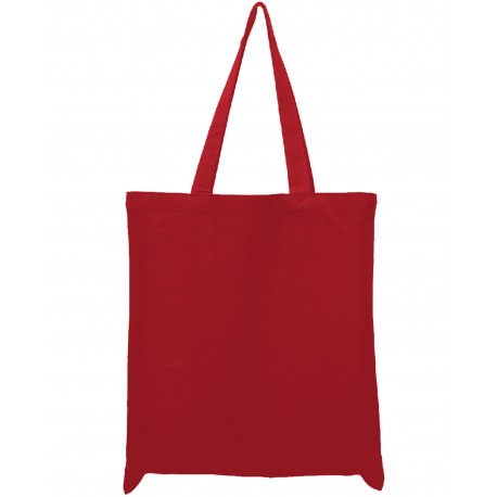 OAD113 OAD OAD113 12 oz Tote Bag RED