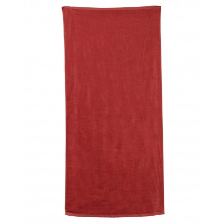OAD3060 OAD OAD3060 Beach Towel RED