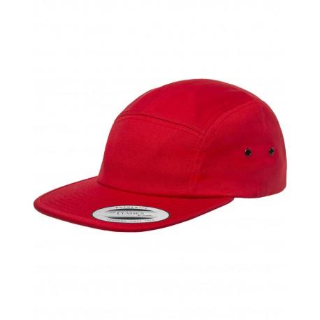 Y7005 Yupoong Y7005 Classic Jockey Camper Cap RED