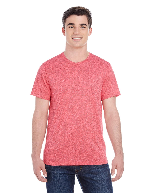 2800 Augusta Sportswear RED HEATHER
