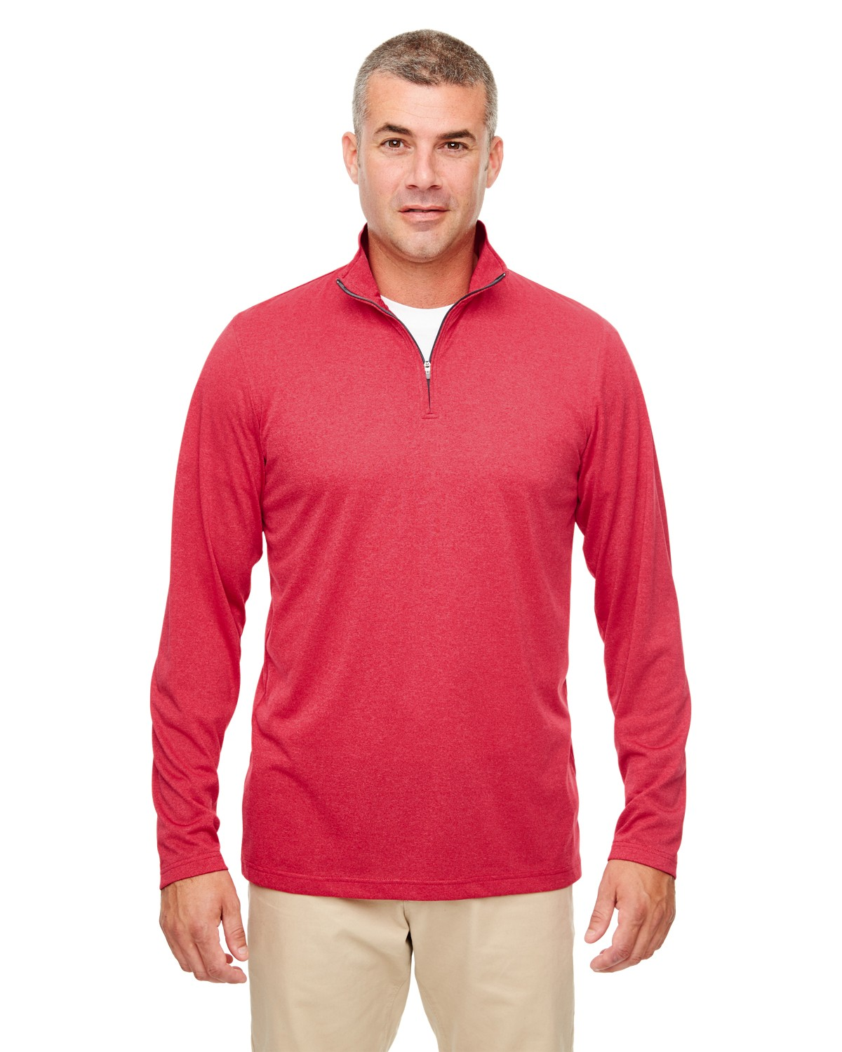 8618 UltraClub RED HEATHER