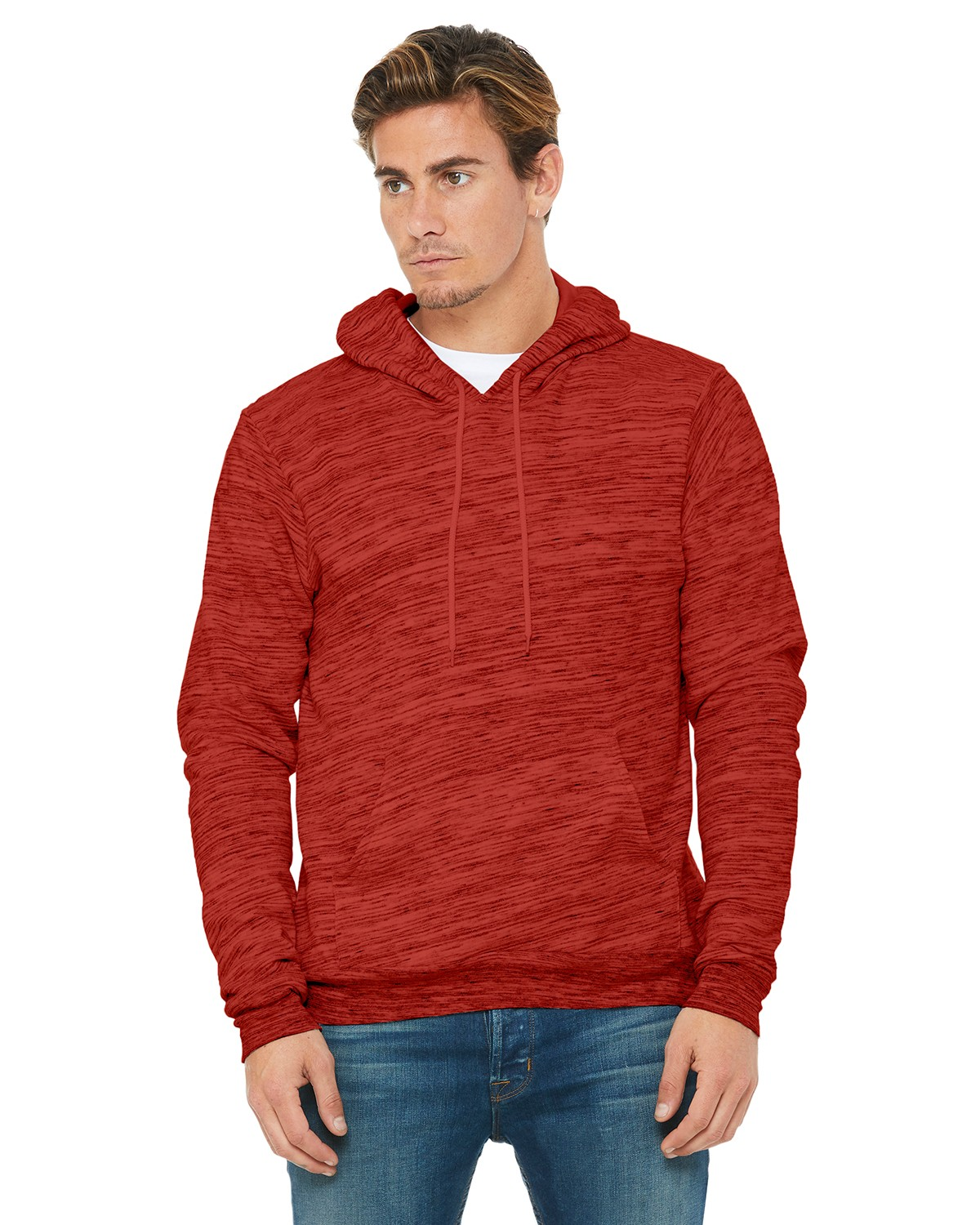 3719 Bella + Canvas RED MARBLE FLC