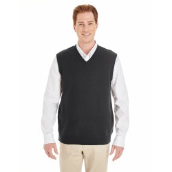 Harriton M415 Men's Pilbloc V-Neck Sweater Vest
