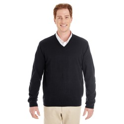 Harriton M420 Men's Pilbloc V-Neck Sweater