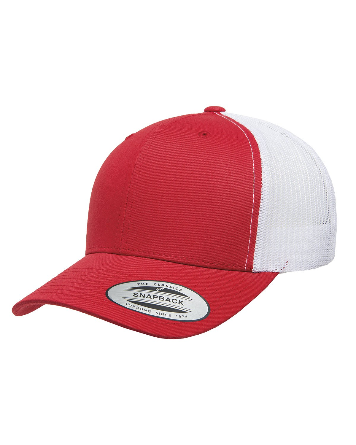 6606 Yupoong RED/WHITE