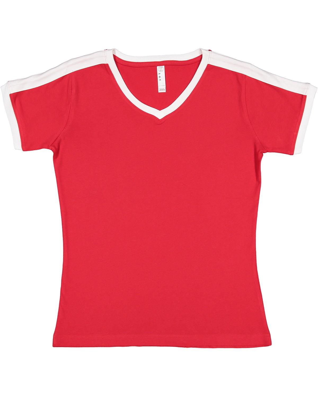 3532 LAT RED/WHITE