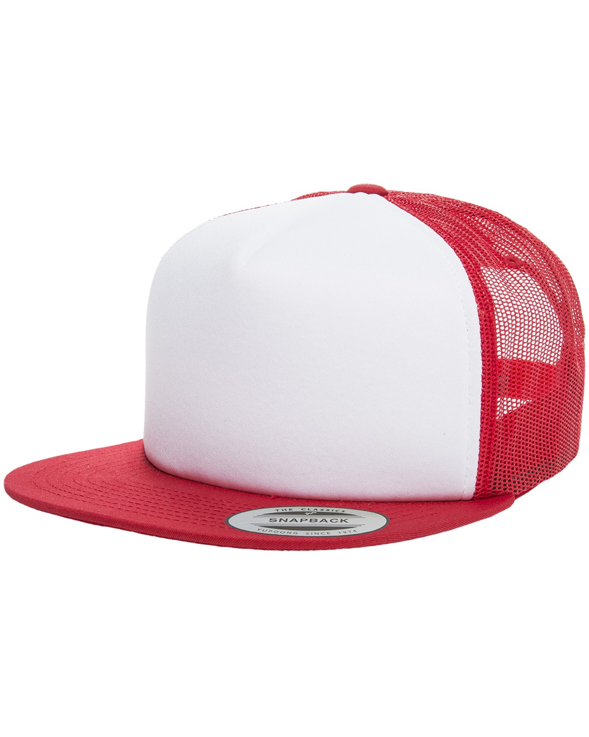 6005FW Yupoong RED/WHITE/RED