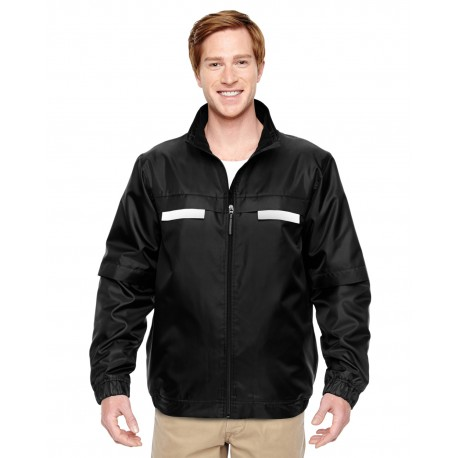 M770 Harriton M770 Adult Survey Fleece-Lined All-Season Jacket BLACK