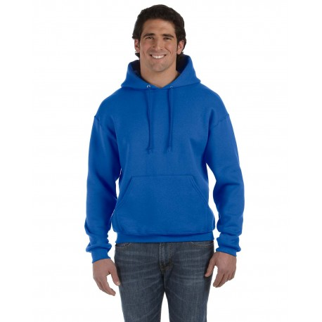 82130 Fruit of the Loom 82130 Adult 12 oz. Supercotton Pullover Hood ROYAL