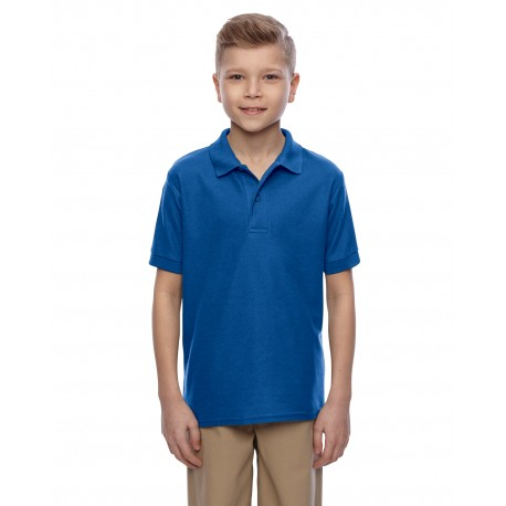 537YR Jerzees 537YR Youth 5.3 oz. Easy Care Polo ROYAL