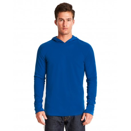 8221 Next Level 8221 Adult Thermal Hoody ROYAL
