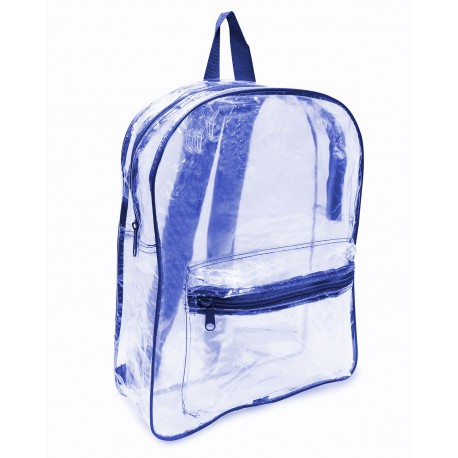 7010 Liberty Bags 7010 Clear Backpack ROYAL