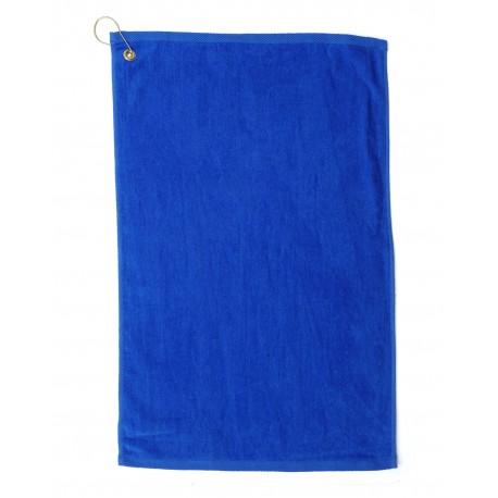 TRU35CG Pro Towels TRU35CG Platinum Collection Golf Towel ROYAL BLUE