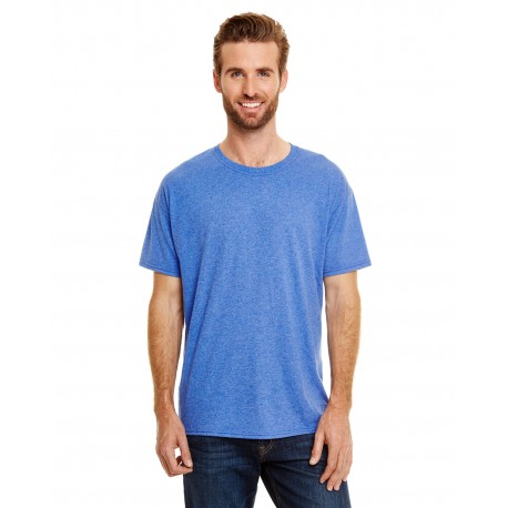 42TB Hanes 42TB Adult X-Temp Triblend T-Shirt ROYAL TRIBLEND