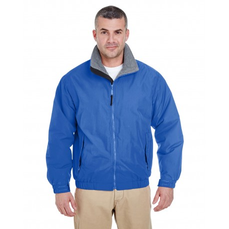 8921 UltraClub 8921 Adult Adventure All-Weather Jacket ROYAL/CHARCOAL