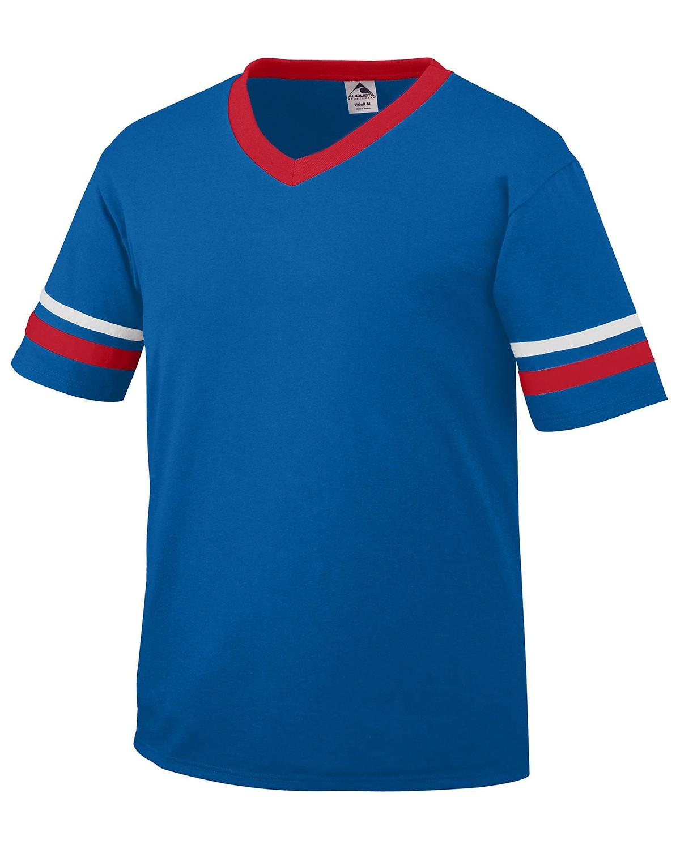360 Augusta Sportswear ROYAL/RED/WHT