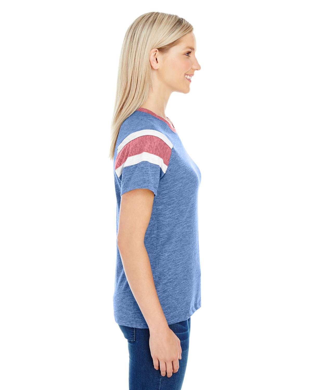 3011 Augusta Sportswear ROYAL/RED/WHT