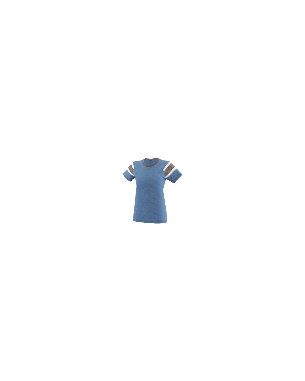 3011 Augusta Sportswear ROYAL/SLATE/WH