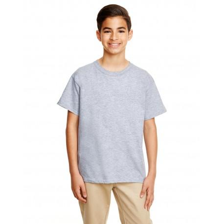 G645B Gildan G645B Youth Softstyle 4.5 oz. T-Shirt RS SPORT GREY