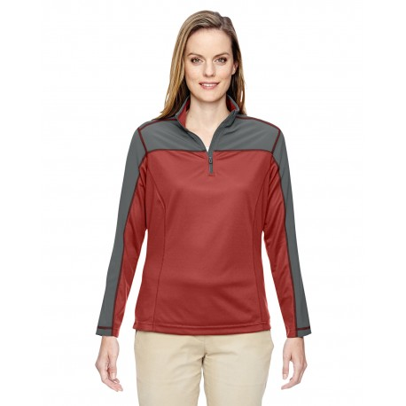78220 North End 78220 Ladies' Excursion Circuit Performance Quarter-Zip RUST 489