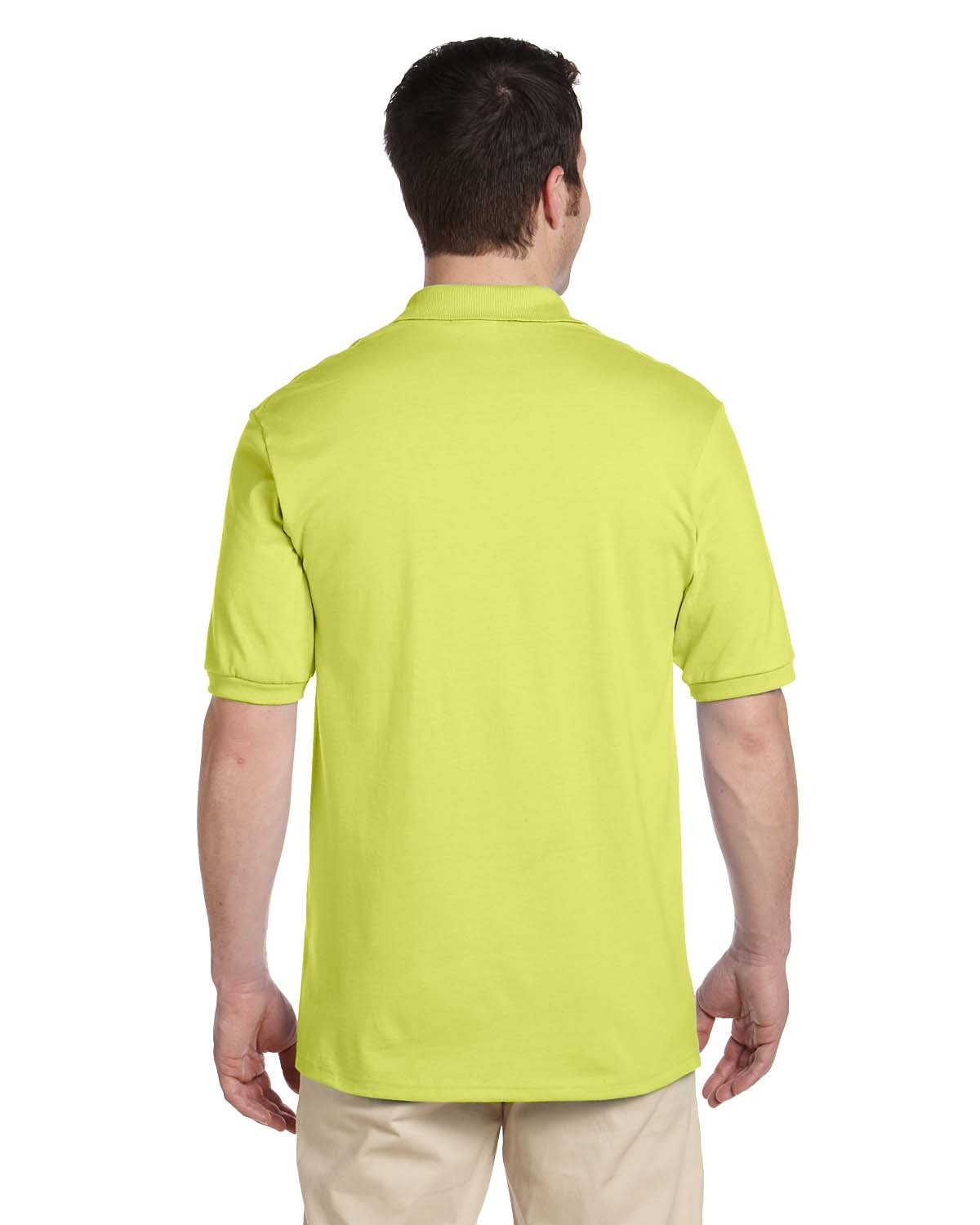 437 Jerzees SAFETY GREEN