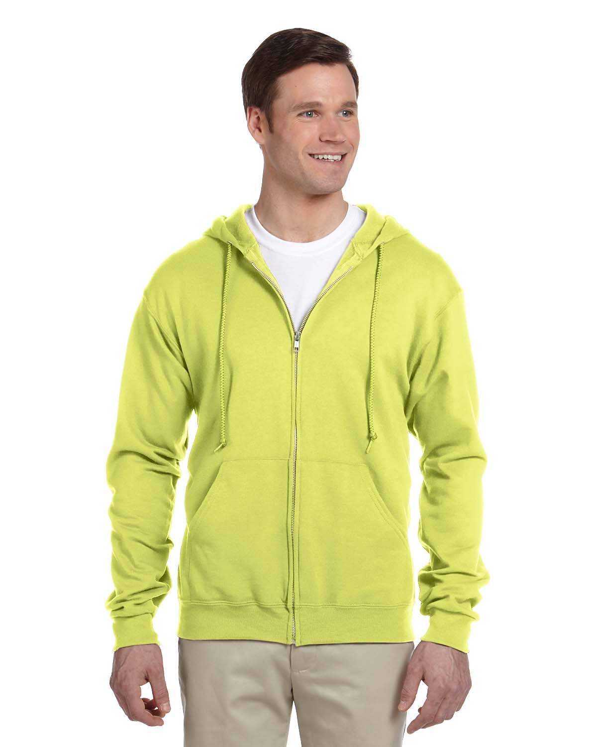 993 Jerzees SAFETY GREEN