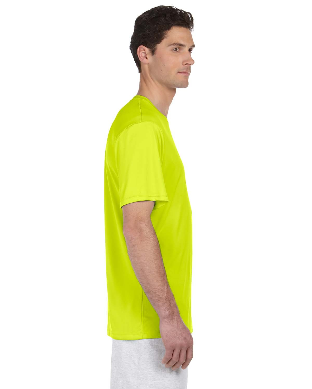 4820 Hanes SAFETY GREEN