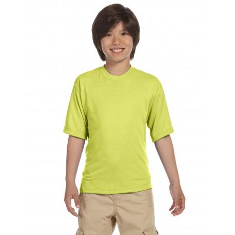 21B Jerzees 21B Youth 5.3 oz. DRI-POWER SPORT T-Shirt SAFETY GREEN