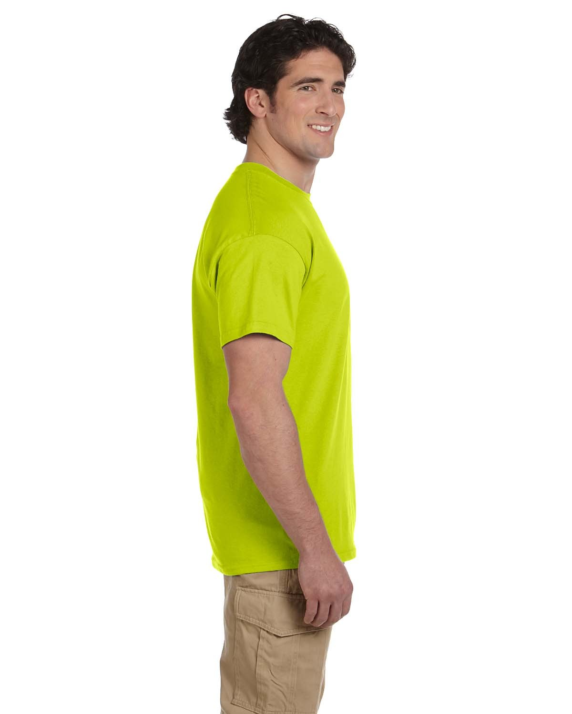 G200 Gildan SAFETY GREEN