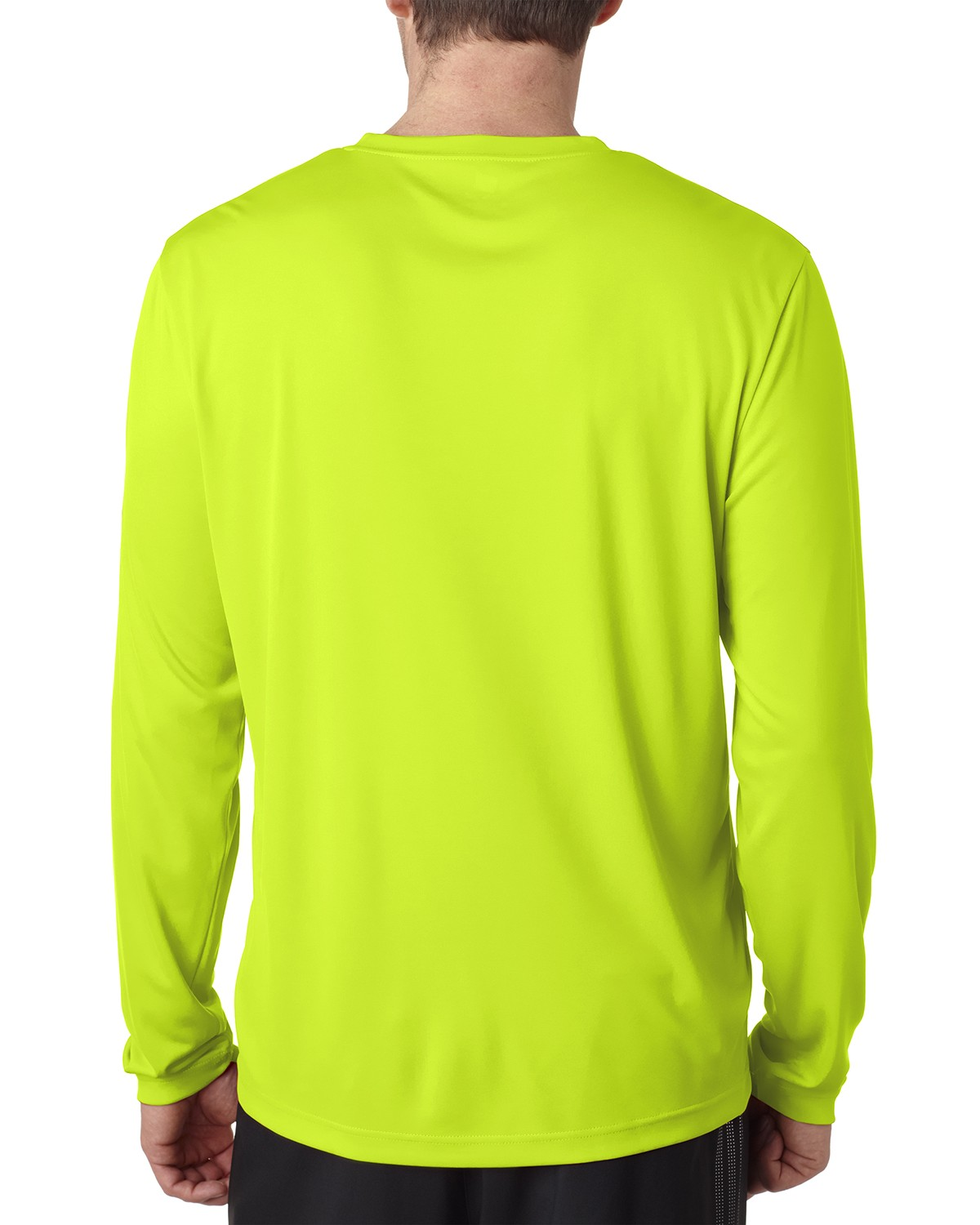 482L Hanes SAFETY GREEN