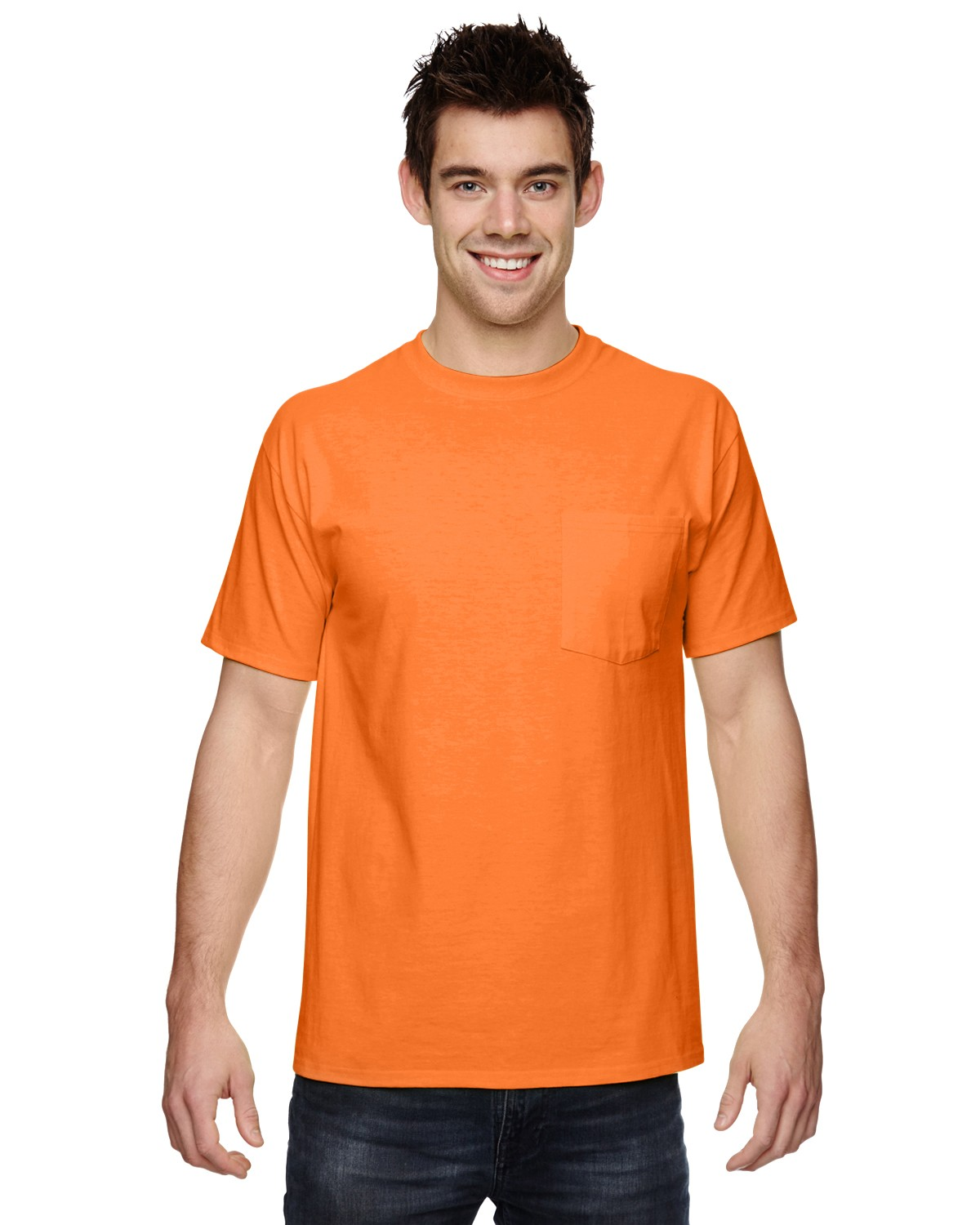 3931P Fruit of the Loom SAFETY ORANGE