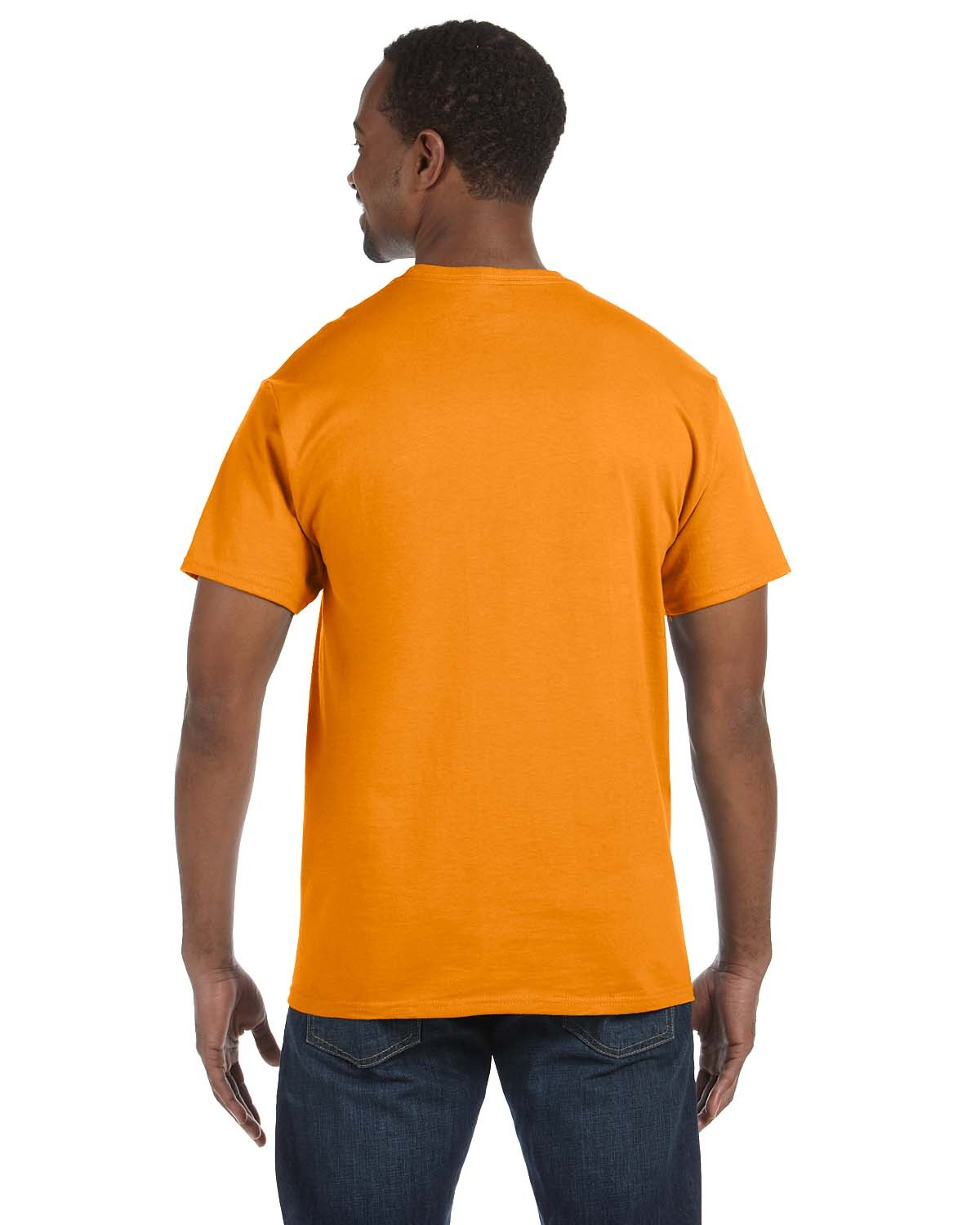 5250T Hanes SAFETY ORANGE