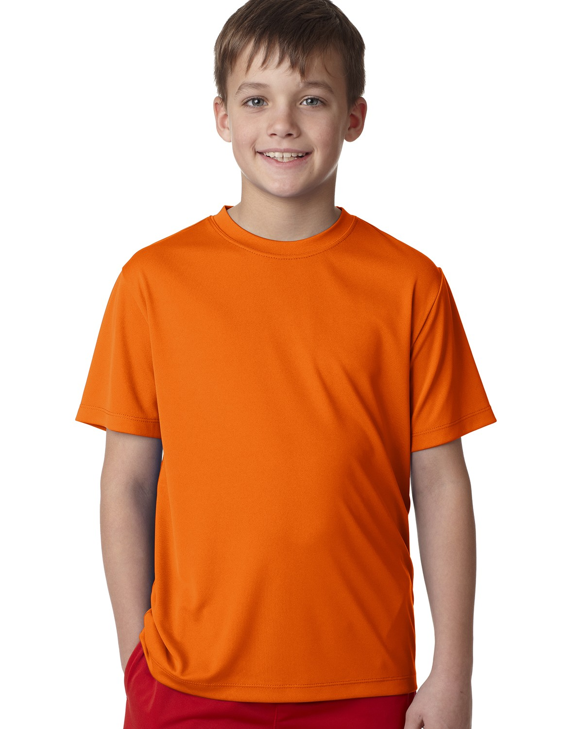 482Y Hanes SAFETY ORANGE