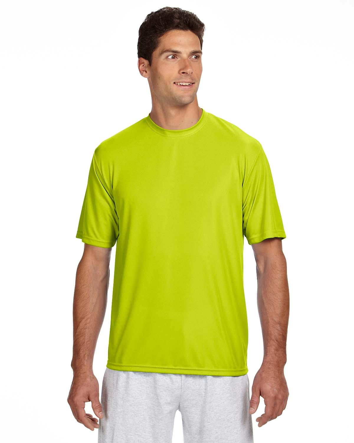 N3142 A4 Apparel SAFETY YELLOW