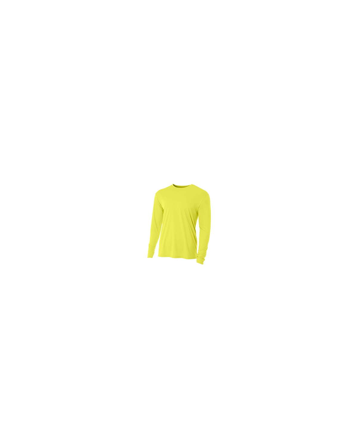 N3165 A4 Apparel SAFETY YELLOW