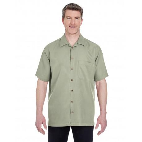 8980 UltraClub 8980 Men's Cabana Breeze Camp Shirt SAGE