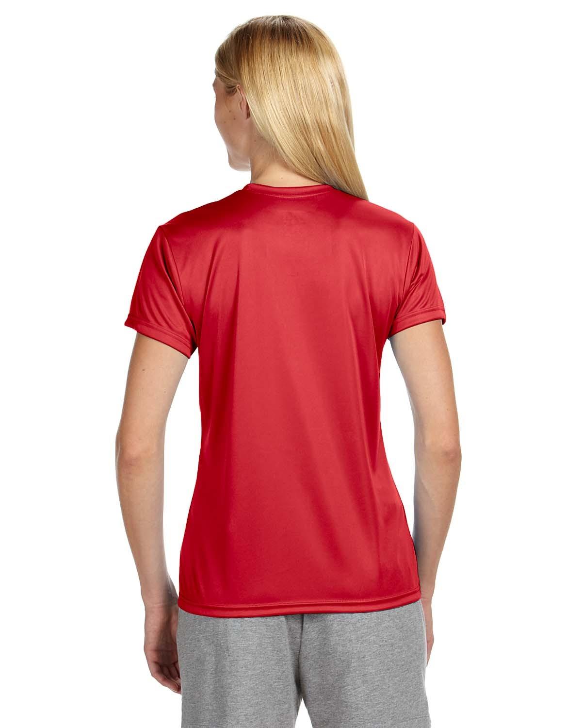 NW3201 A4 Apparel SCARLET