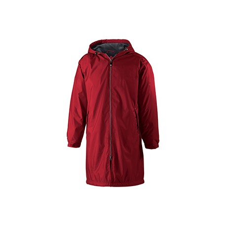 229162 Holloway 229162 Adult Polyester Full Zip Conquest Jacket SCARLET