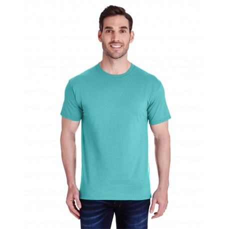 460R Jerzees 460R Adult 4.6 oz. Premium Ringspun T-Shirt SCUBA BLUE